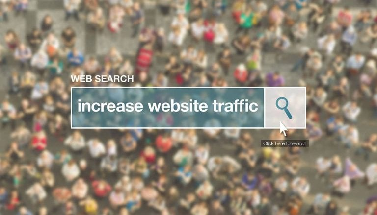 how to increase website trafic