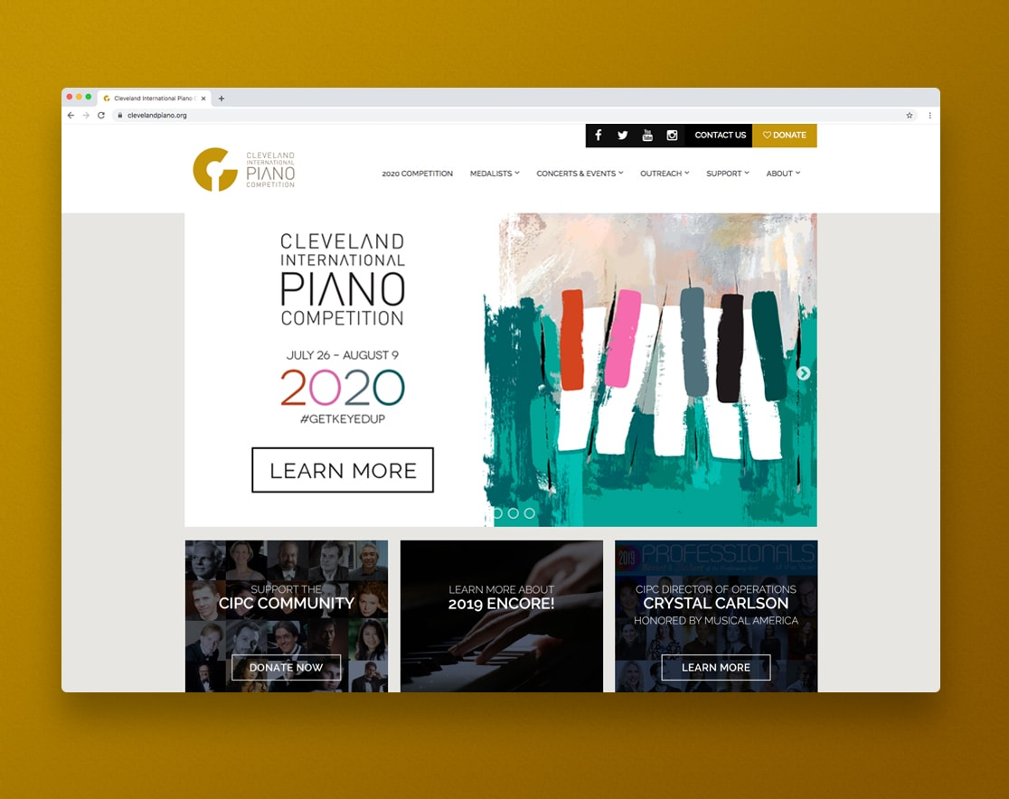 Cleveland International Piano Competition July 26 - August 9 post