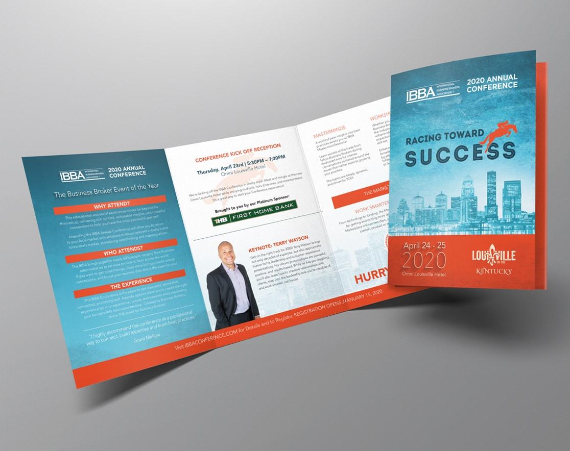 IBBA printed brochure
