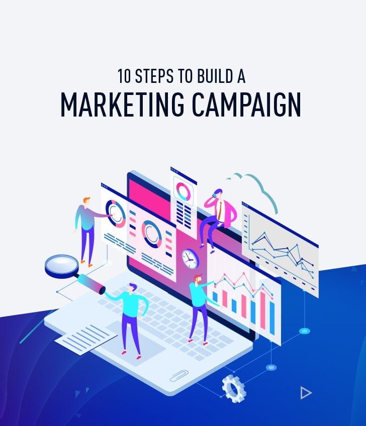 10 steps to build a marketing campaign cover
