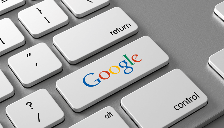 Google button on keyboard
