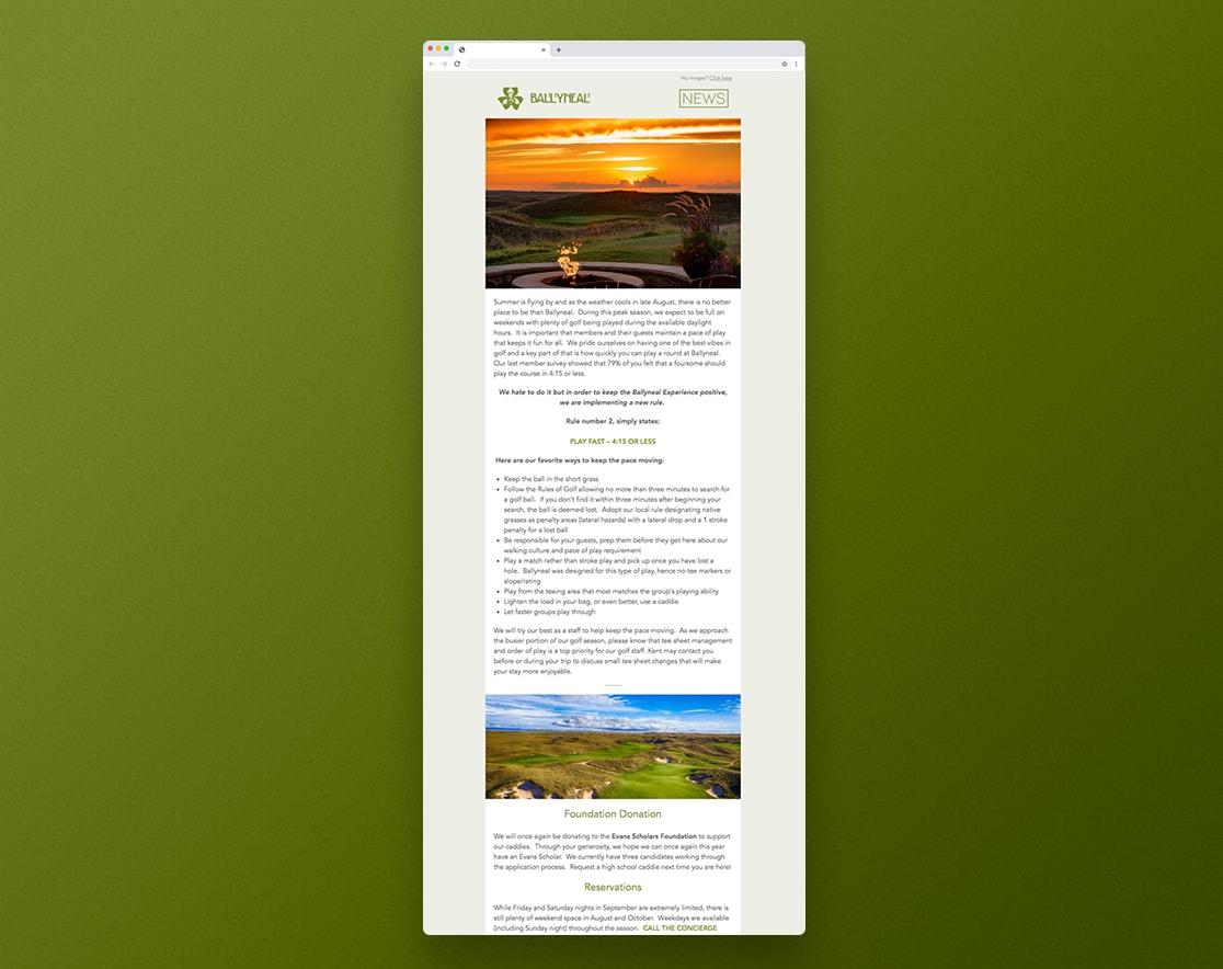ballyneal newsletter