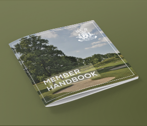 ncr country club member handbook designed by front porch solutions