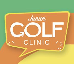 graphic design for ballyneal junior golf clinic flyer