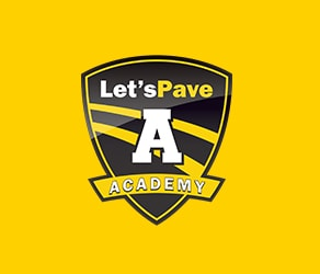 graphic design for let's pave booklet