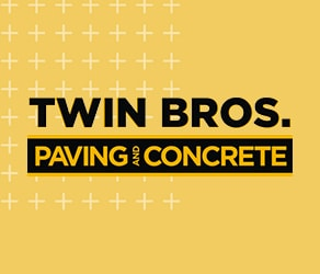 twin bros paving and concrete website design
