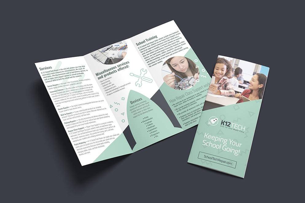 k12 tech franchise brochure