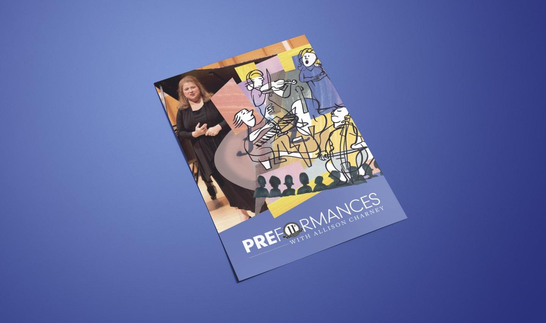 design of preformances musical event program