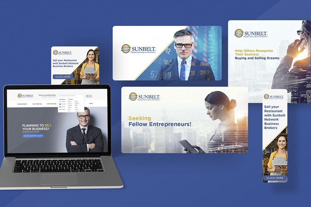 sunbelt business brokers marketing collateral